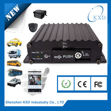 4 CH vehicle DVR with 3G GPS wifi for school bus solution