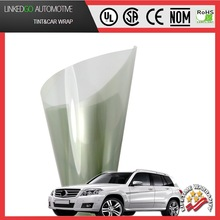 Removable Light Green 55%vlt auto tinting film solar protection tint film directly from factory sized 1.52*30m roll