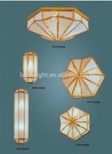 alabastro e27 ul lampadario albergo lampade a soffitto importazione luci nuovo progettazione vendita calda