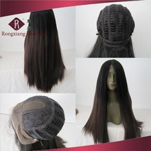 Cheap Heat Resistant Yaki Hair U Part Ombre Synthetic Hair Lace Front Wig