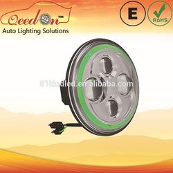 Qeedon 7inch LED Round E-mark DOT Head lights led head light for kdh200 led headlight for Harley Davidson