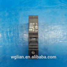 Black plastic shelling plug-in mini circuit breaker