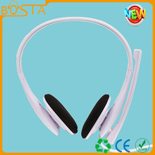 Computer over head china wholesale price headphone/headset with custom color/logo