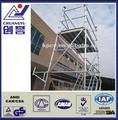 alluminio torre ponteggio mobile