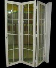 Cheap bathroom folding door for residence (WJ-AFD-287)