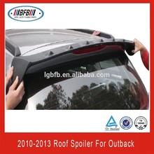 Rear Window Roof Spoiler Fin Vortex for Subaru Outback 2010-2013