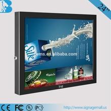 advertising display indoor application TFT type 3G wifi