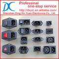 Copia 765-00/001 de alimentación de ca de entrada iec conectores conn 320-c13 recpt ca toma solo fusible