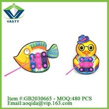 Cute 3 tones plastic toy mini piano toy for children educational