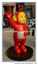 Life-size Outdoor Fiberglass Teletubbies Trivia Statue