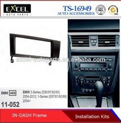 Car Refitting frames for BMW 3 Series 1 Series E87 E81 E82 E88 Fascia Plate Panel