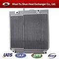 De la aduana de china de aluminio de refrigerante del radiador de tipos