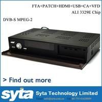 Hot lastest S810B dvb-s free to air set top box tv recevier