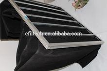 Quality F5-F9 manufacturer air filter magnetic pocket for fridge