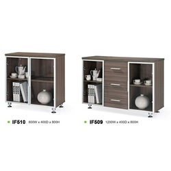 Wooden cupboard designs of office IF509