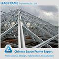 galvanizado de acero del techo a prueba de agua marco casita pequeña plaza etapa truss