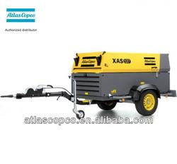 Atlas copco portable air compressor XAS137(XAS300)