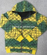 Men's Winter heavy polyester cotton Custom Knitted Hoodies,full printing custom hoodies