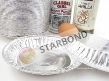 Disposable Aluminium foil container round pie pan