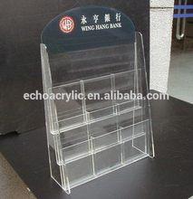 especial nueva llegada de auto de acrílico pantalla de cigarrillos empujador