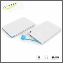 5V 2500mAh famous brand mobile power bank