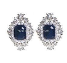 New promotional saudi stud earrings with zircon