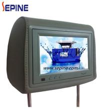 7 SD card car flash player usb headrest tv screen
