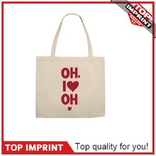 Promotional Custom Pure Cotton Tote Bag