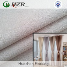hot sale linen look 100% polyester blackout fabric samples free