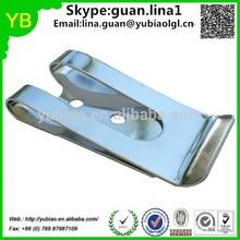 Custom belt clip for keys ,seat belt clip,spring steel belt clip ISO9001 passed