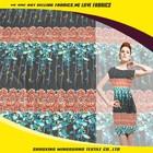 China digital print manufacturer new design silk chiffon floral printed fabric
