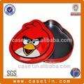 Décoratifs oiseaux en étain, décoratives en métal oiseaux, décoration oiseau rouge