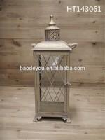 Antique good quality wrought iron lanterns/iron candle lantern