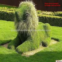 SJH010393 large decorative animals artificial grass animals plastic animals garden decoration