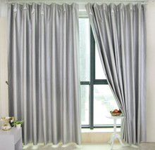 embroidered silk backout curtain fabric