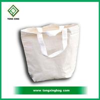 100% Natural Plain White Cotton Shopper Bag