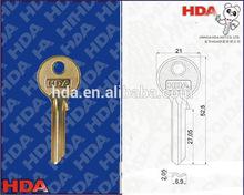 Dimple blank house key COL-11R-AA