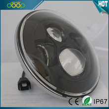 "New Factory supply best 30w 7"" round headlight for jeep"