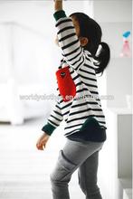 cute children cotton trousers ,girls leisure style pants,girls sport pants