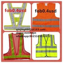 flashing led safety vest , refelecting vest refelective vest ,reflection vest,police vest,work vest ,high visibility vest