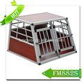 De aluminio de la jaula del animal doméstico, el transporte del perro perreras, gran cajón del perro