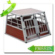 Aluminum pet cage,dog transport kennels,big dog crate