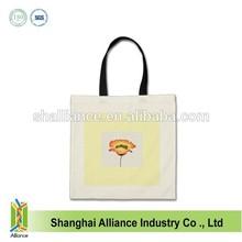 Cotton canvas shopping bag supplier ALD942