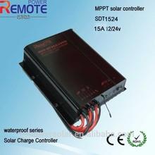 12/24V auto 15A MPPT solar controller