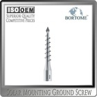 Galvanized Steel Ground Screw Post Support for Fencing and Photovoltaic Panels Installation