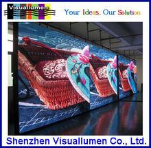 P5 indoor full color aniamtion graphic LED advertising screen video wall