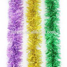 Hot sale tinsel garland,christmas decoration,gift,christmas ornament clored chritsmas tinsel