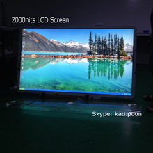 65 inch LCD TV, Remote LCD TV, Support Wall Mount or Mounted into Advertising Kiosk