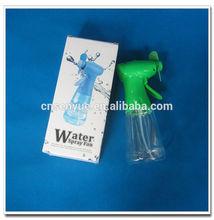 NingBo supplier advertsing gifts water bottle spray fan