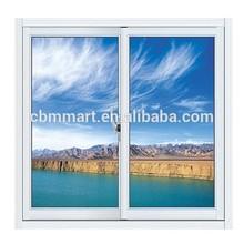 sliding window with white color aluminum